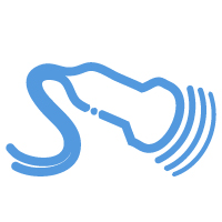 Ultrasound service icon showing transducer used for sonography imaging at Premier Diagnostic Imaging in Cookeville, TN