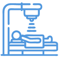 X-ray and fluoroscopy services icon